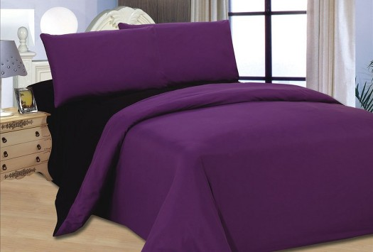 Bed Cover Blackcurrant Black Divan Beds Memory Active